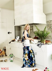 Gywneth Paltrow Cooking